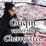 Guqin under the Cherry Tree