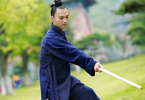 Wudang Taoist Uniform Blue