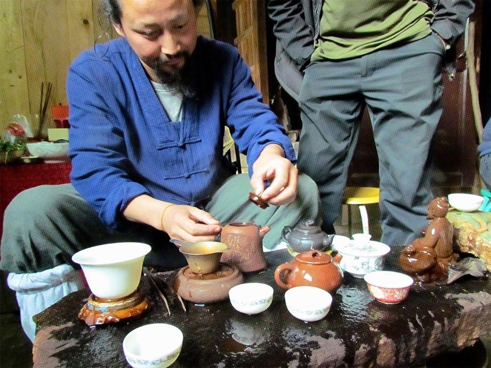 Why Taoists Drink Tea?